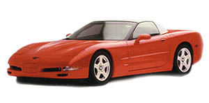 Torch Red C5 Convertible
